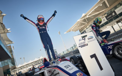 Francesco Pizzi takes two wins in Yas Marina Circuit