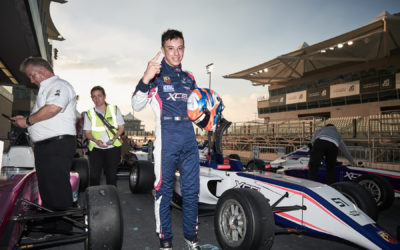 Francesco Pizzi continues his winning path in Yas Marina Circuit