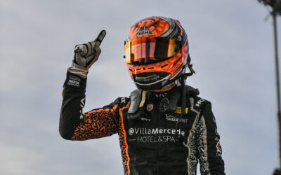 Amazing start for Francesco Pizzi, three podiums, one win and first place in the Italian F4 Championship