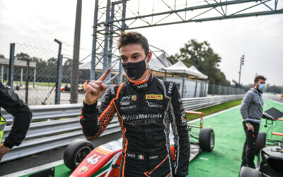Francesco's masterpiece in Monza, the Italian F4 Championship is open again