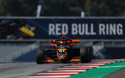FRANCESCO DRIVES WELL AND CONVINCES IN A WEEKEND CHARACTERIZED BY PENALTIES AND TWISTS AND TURNS.